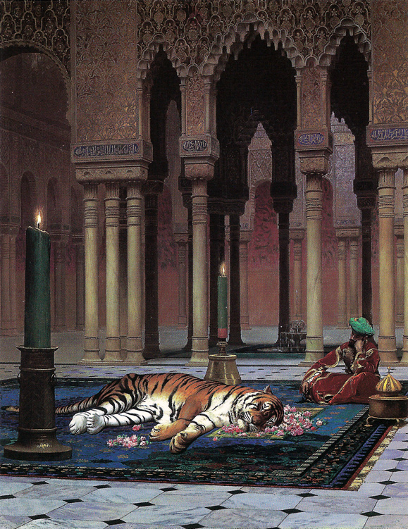 Gerome, The Grief of the Pasha